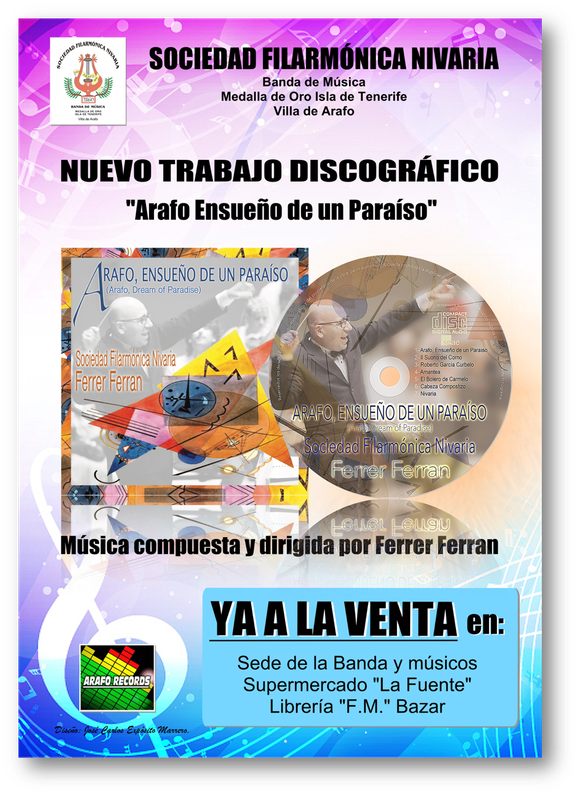 CARTEL VENTA CD BANDA NIVARIA